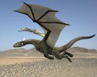 Dragon de vol Photos stock