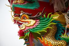 Dragon decoration Stock Image