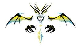 Dragon Demon Sand Wave royalty illustrazione gratis