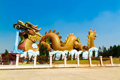 Dragon Descendants Museum. The Dragon Descendants Museum at Suphun Buri Thailand Royalty Free Stock Images