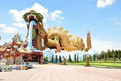 Dragon Descendants Museum, Tailandia Fotografie Stock