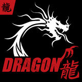 Dragon Design Concept misterioso Fotografía de archivo