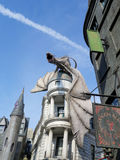Dragon at Diagon Alley Stock Photography