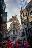 The Dragon of Diagon Alley at Universal Studios Florida Stock Photos