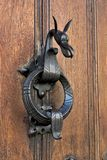 Dragon door lock Royalty Free Stock Photo