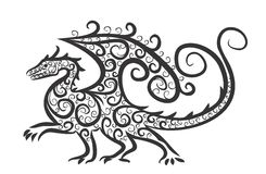 The Dragon Royalty Free Stock Photography