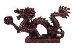 Dragon du côté Photographie stock libre de droits