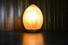 Dragon Egg Natural Salt Lamp | Sal Himalayan fotos de archivo libres de regalías