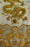 Dragon Embroidery Royalty Free Stock Photography