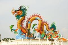 Dragon en évidence Photographie stock libre de droits