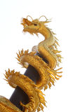 Dragon en acier Photographie stock