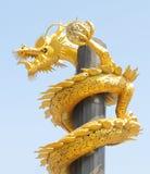 Dragon en acier Photo libre de droits