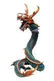 Dragon en bois Photos libres de droits