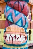 Dragon en bois Images libres de droits