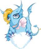 Dragon en nuage Images libres de droits