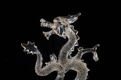 Dragon en verre Images stock