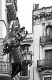 Dragon et parapluie photographie stock libre de droits