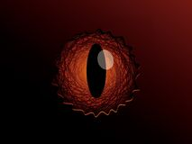 Dragon eye Royalty Free Stock Image