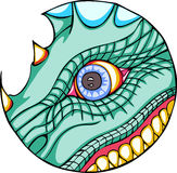 Dragon eye Royalty Free Stock Photos