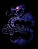 Dragon Eye Light Fotografía de archivo libre de regalías