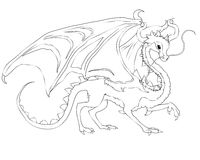 Dragon féerique chinois Photo stock