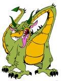Dragon féroce Photographie stock libre de droits