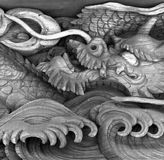 Dragon. Face misawa japan aomori Royalty Free Stock Photography