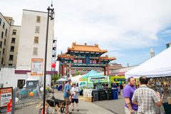Dragon Fest Chinatown Seattle Washington Royalty Free Stock Image