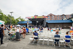 Dragon Fest Main Stage Royalty Free Stock Image