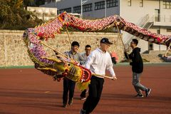 Dragon Festival In China Image libre de droits