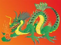 DRAGON FIERN CHINESE NATIONAL SYMBOL №2. Chinese dragons also penetrated other Asian countries that somehow got under the Chinese influence. However, there are Stock Photos