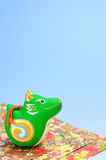 Dragon Figurines. Royalty Free Stock Images