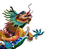 Dragon and fire ball Royalty Free Stock Photos