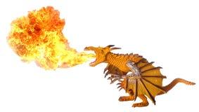 Dragon Fire Breath Royalty Free Stock Photos
