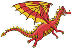 Dragon. Royalty Free Stock Photo