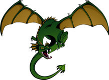 Dragon in Flight Royalty Free Stock Photography