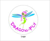 Dragon-fly\ Royalty Free Stock Photos