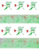 Dragon fly pattern Stock Images