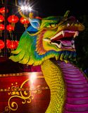 Dragon foam for celebrating Chinese New Year. Stock Photography