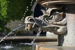 Dragon Fountain Fotografia Stock Libera da Diritti