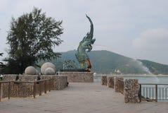 Dragon Fountain Stockfotografie