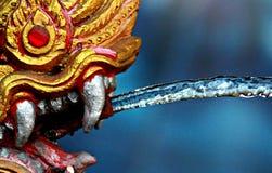 Dragon Fountain d'or à Bangkok Photographie stock libre de droits