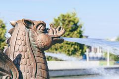 Dragon Fountain images stock