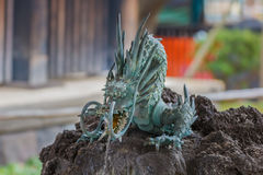Dragon Fountain at Kiyomizu Temple in Tokyo Royalty Free Stock Photography
