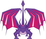 Dragon Front Royalty Free Stock Photo