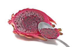 A dragon fruit stock image
