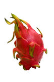 Dragon Fruit. Isolated image of a dragon fruit royalty free stock photos