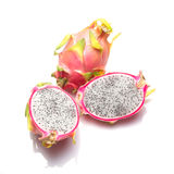Dragon Fruit  against Thailand fruit Stock Images