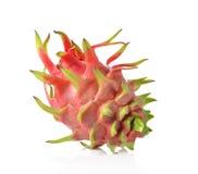 Dragon Fruit  against white background. Royalty Free Stock Image