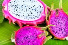 Dragon Fruit aka Pitaya Royalty Free Stock Photography